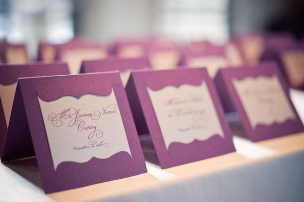 Love these place card holders