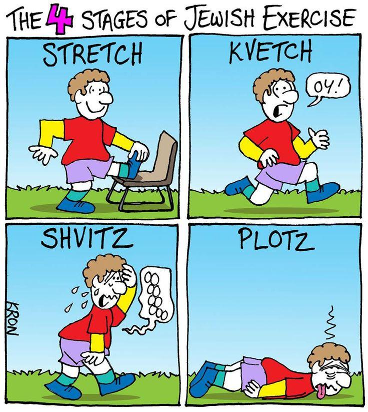 Jewish excercise.