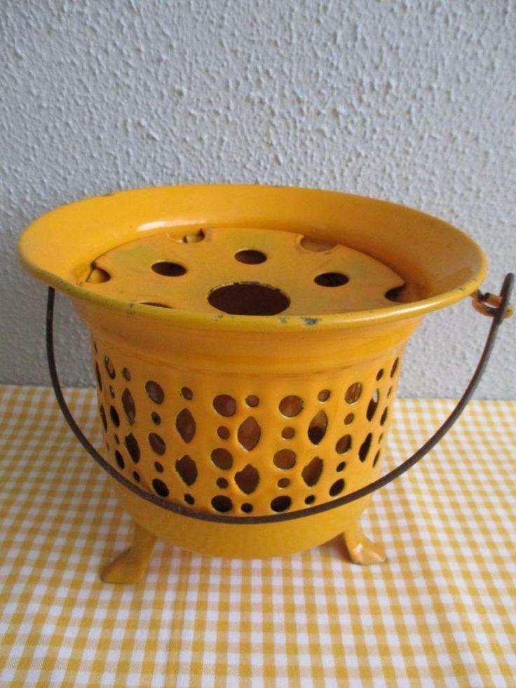 ≥ Retro Emaille Theelicht Vintage - Keuken   Keukenbenodigdheden - Marktplaats.nl