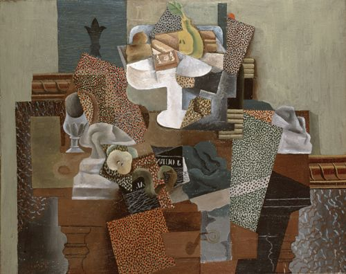 """Pablo Picasso, """"Still Life with Compote and Glass"""" (1914-15)"""