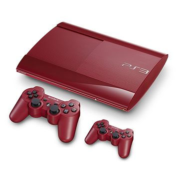 PS3 500GB Collector's Red+2o Dualshock / Sony PS3 / Παιχνίδια /