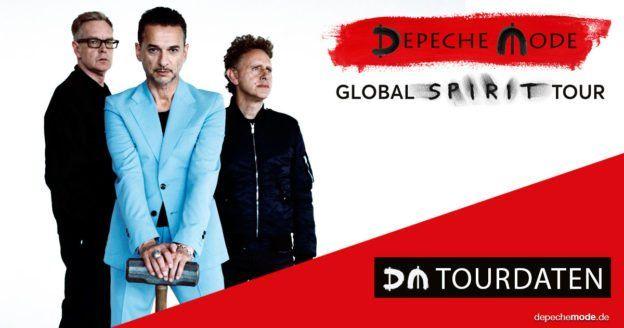 Depeche Mode gehen von Mai 2017 bis März 2018 auf große Welttournee. Neunmal spielt die Band dabei in Deutschland. Original-Tickets ...