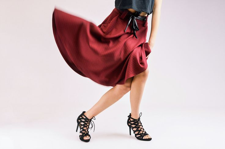 studio fashion photography for shoes