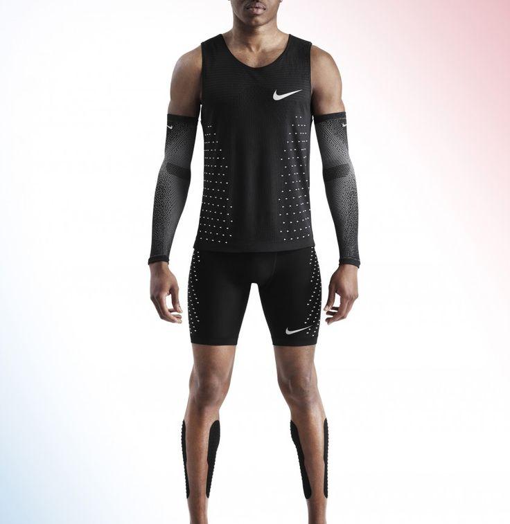 Breaking2 Laufbekleidung - Shirt, Tights, Sleeves, Aeroblade Tapes 2017 von Nike