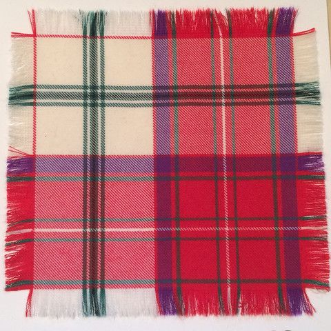 Red Crieff - 100% Wool Tartan Fabric – Highland In Style
