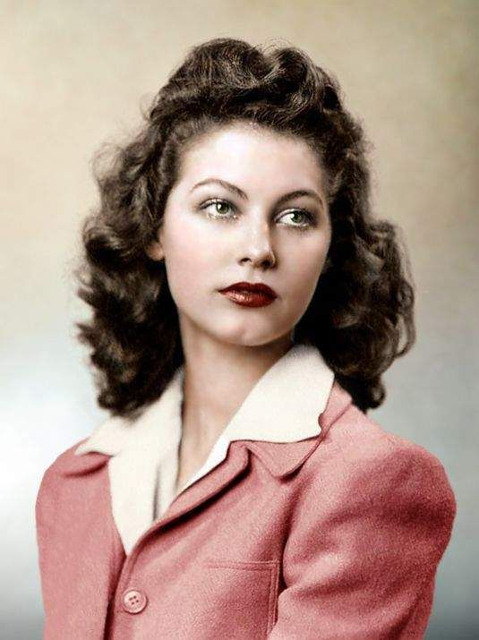 AVA GARDNER... a young girl from a small city in North Carolina