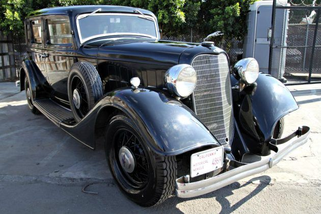 V12 Survivor To Admire: 1934 Lincoln Town Car #Survivors #American, #Lincoln, #Survivor - http://barnfinds.com/v12-survivor-admire-1934-lincoln-town-car/