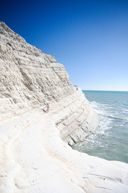 Scala dei Turchi Sicily, Italy Photo by PeterJot on Flickr.