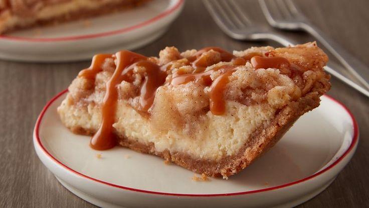 Sugar Cookie Apple Cheesecake Piehttp://www.bettycrocker.com/recipes/sugar-cookie-apple-cheesecake-pie/25ae4d44-4a04-4675-9359-9fc3da9f204c