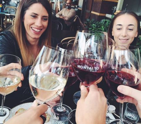 Wine tasting at Montalto winery.  30 things to do in Mornington Peninsula, Victoria, Australia. Part of the Sydney to Melbourne coastal drive, an east coast road trip. We list the best beach camping and things to do. Photo: oliviarestuccia