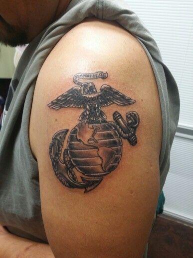 best 25 usmc tattoos ideas on pinterest marine corps tattoos marine tattoo and army emblem. Black Bedroom Furniture Sets. Home Design Ideas