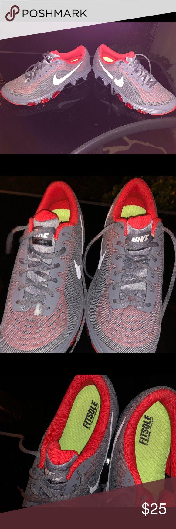 Nike tennis shoes Grey mesh Men's Nike Air  New- W/O Box Nike Shoes Sneakers