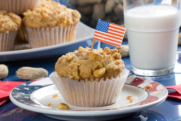 These peanut butter muffins are amazing! They're moist on the inside and topped with a nutty streusel mixture that makes them addictively-good.