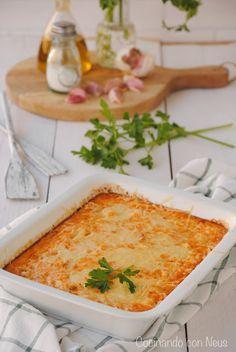 Cocinando con Neus: Pastel de merluza y gambas