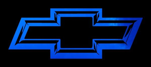 Blue chevy logo wallpaper