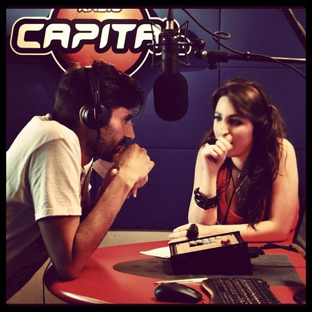 Luciana e Giancarlo parlano di design su Radio Capital.