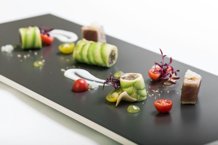 Thunfisch Variation - die Interpretation des Michaelis Leipzig.  Foto by Hotel Michaelis http://blog.eventsofa.de/top-10-catering-service-anbieter-in-deutschland/ #Leipzig #finedining #Firmenessen #Catering