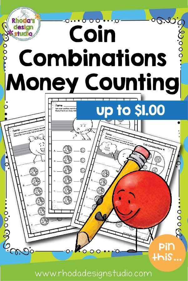 coin combinations up to worksheets money practice favorites from teachers pay teachers. Black Bedroom Furniture Sets. Home Design Ideas