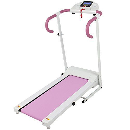 Alitop 500W Portable Folding Electric Running Fitness Machine  Pink >>> You can get more details by clicking on the image.