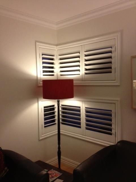 Basswood Plantation Shutters in a house in West Footscray.