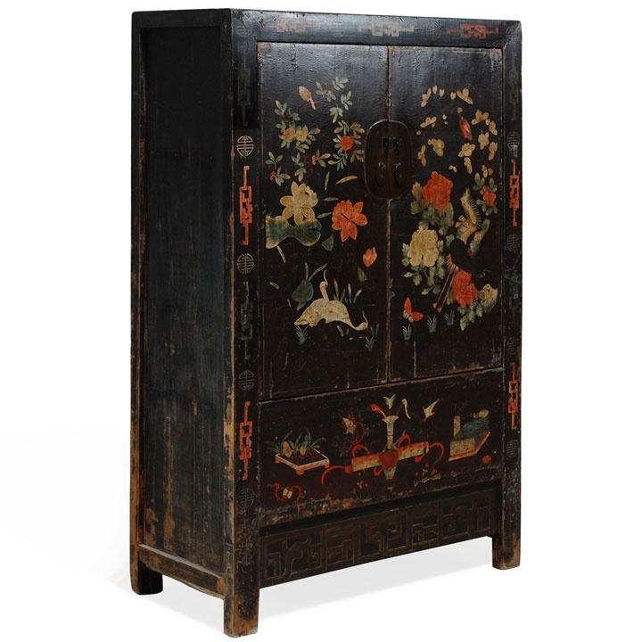 Black Painted Shanxi Cabinet, Chinese Antique Wedding Cabinet, c1800 - 19 Best Antique Chinese Furniture Images On Pinterest Antique