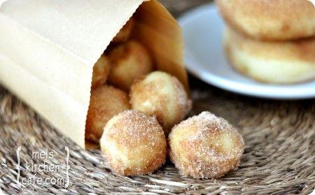 Baked Doughnuts: Food, Sweet Treats, Baked Doughnuts, Doughnut Holes, Baked Donuts, Favorite Recipes