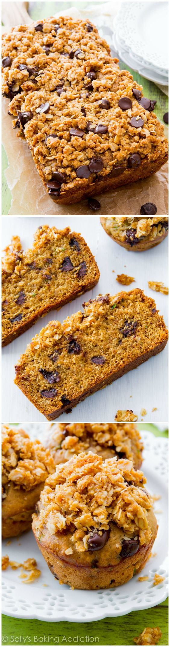 Award-Winning (super moist and simple!) Zucchini Bread & Zucchini Bread Muffins. This family recipe won the Maryland State Fair!
