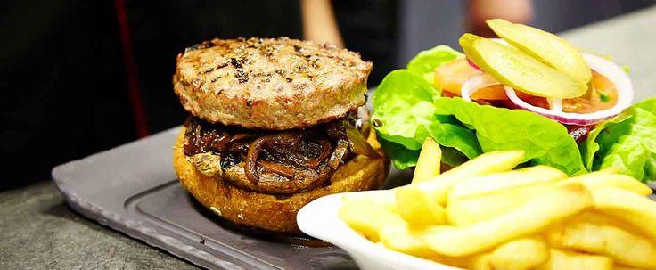 Hurricane's Grill Bondi Beach Wagyu Burger