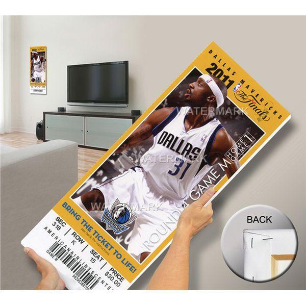 2011 NBA Finals Mega Ticket - Game 3, Terry - Dallas Mavericks - $79.99
