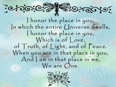 We are One.