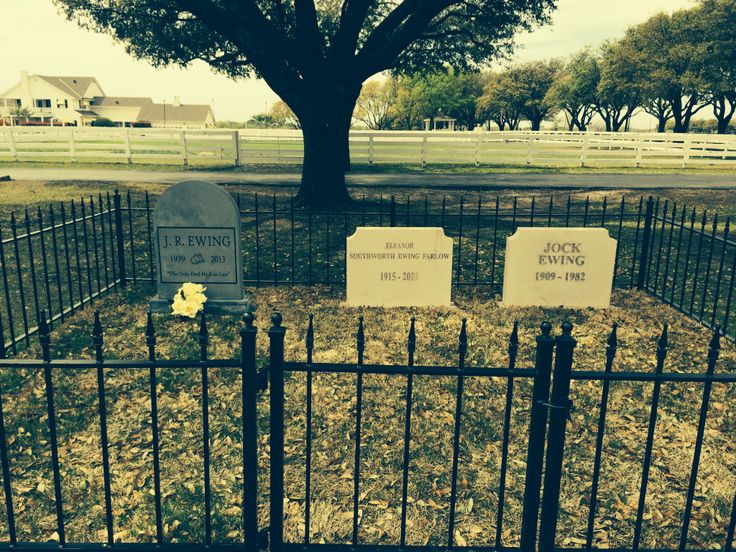 Dallas SouthFork ranch Cemetery