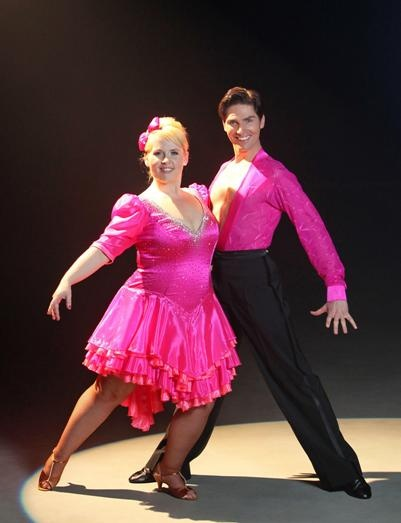 Maite Kelly and Christian Polanc in Lets Dance 2011 Germany