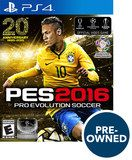 PES 2016: Pro Evolution Soccer - PRE-Owned - PlayStation 4, Multi