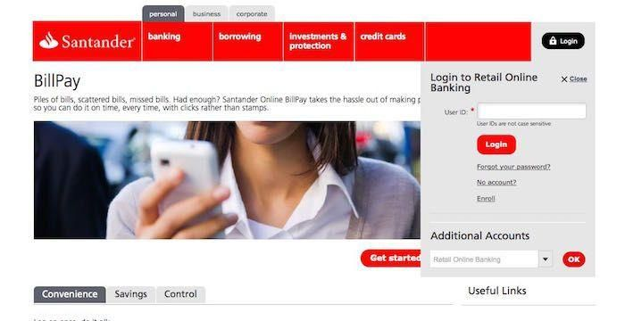 Santander Bank Rechnung Bezahlen Pay Your Bills With Images