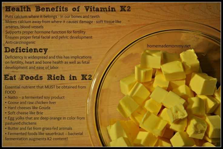 Health Benefits of Vitamin K2 - the key to having healthy babies? via Homemade Mommy