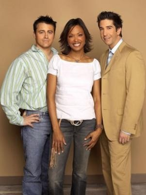 Friends guest star aisha tyler as both joey and ross for Decor 52 fan celano ma dw