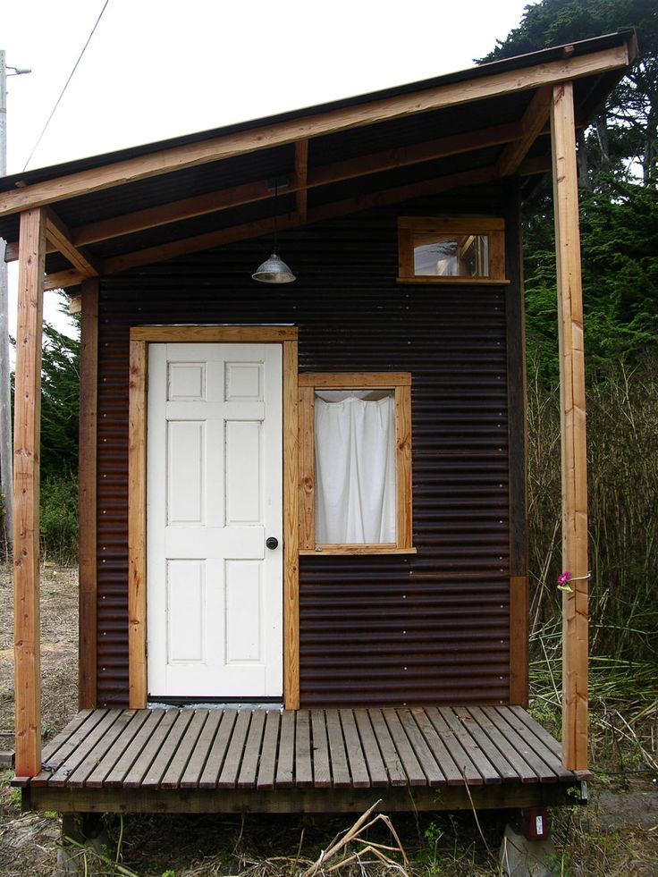 17 best images about tiny house ticklers on pinterest for Small metal cabins
