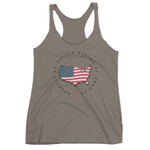 Retro United States Seal Women's tank top