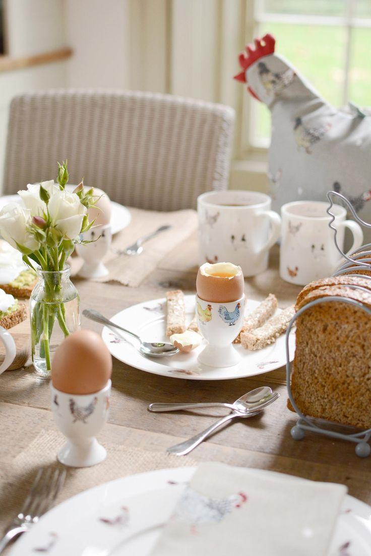Lay A Little Egg Hen  - Egg Cup