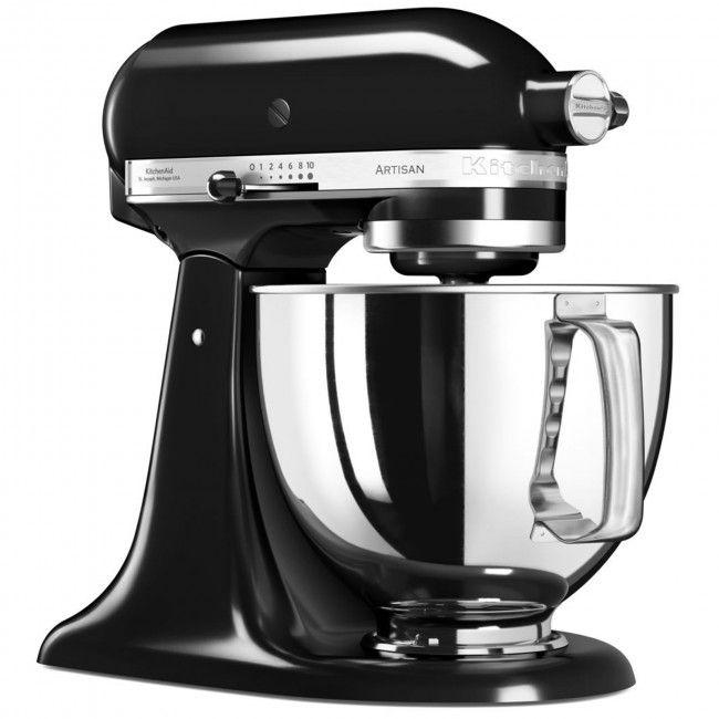KitchenAid 5KSM125BOB Artisan Stand Mixer - Onyx Black for Sale Online