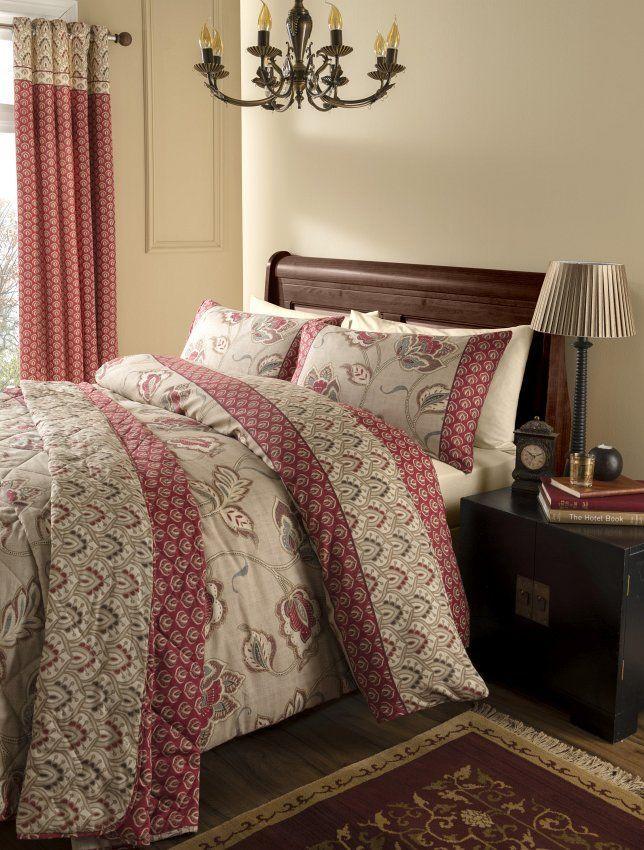 Ein gemütliches Arrangement in gedeckten Farben #bettwäsche #schlafzimmer