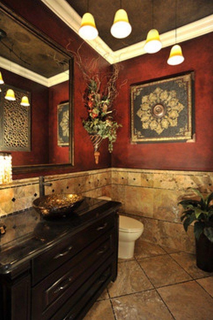 Best 25 tuscan bathroom decor ideas on pinterest tuscan decor tuscan bathroom and - Tuscan bathroom designs and styles ...