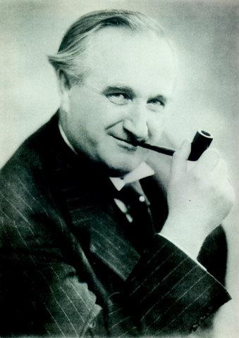 Robert Storm Petersen (Storm P) Danish painter, writer, actor, humorist, and inventor