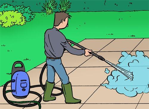 Comment nettoyer votre terrasse? Elle est exposée en permanence aux assauts du vent et intempéries. #DIY