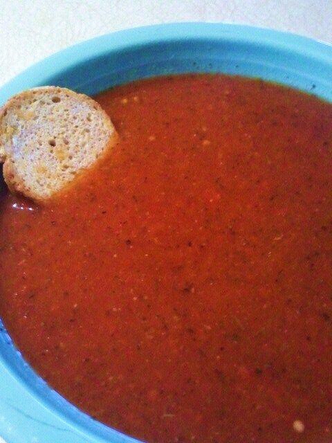 MY HCG DIET RECIPES: HCG DIET Phase 2 (P2) RECIPE : Tomato Basil Soup