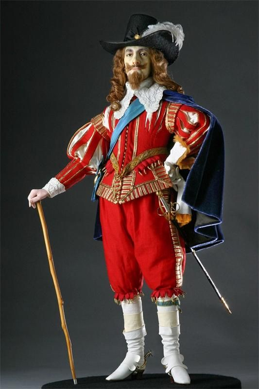 Куклы Джорджа Стюарта: исторические персонажи Англии (мужские образы) — Интересные факты — VilingStore