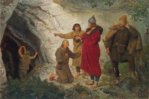 Łokietek pod Ojcowem - Wojciech Gerson