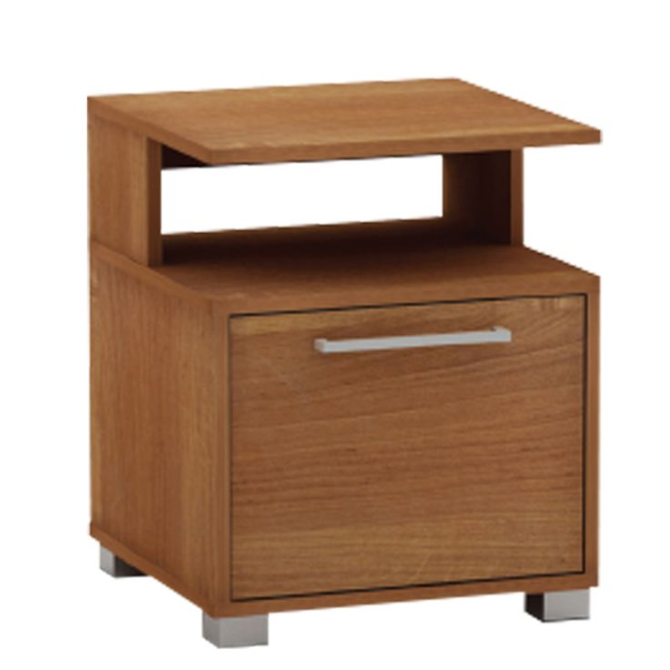 Bedside table Decon MB cherry 40x40x50 Ε7723,2-ΜΒ
