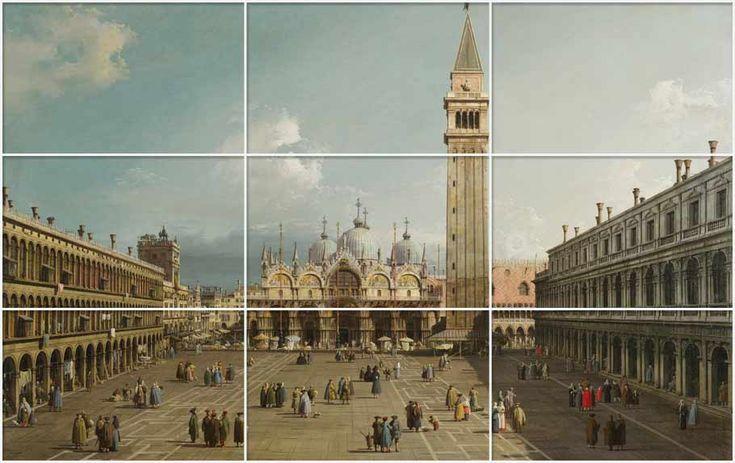 Paisaje de Venecia de Canaletto