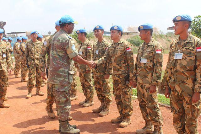 DFC Minusca : Pasukan Garuda Miliki Semangat Kerja Yang Tinggi